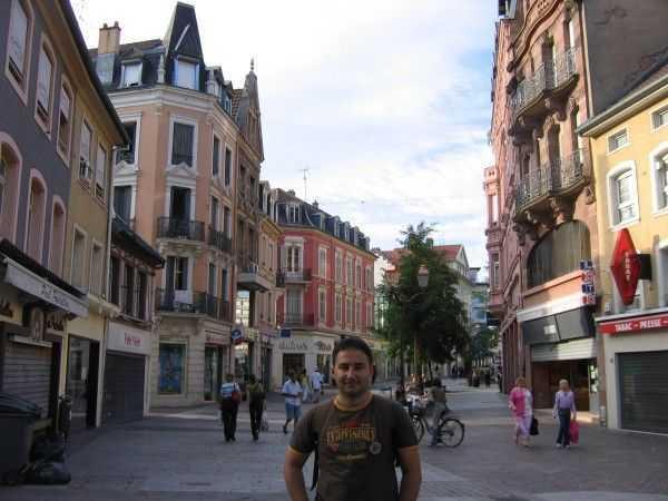 Alışveriş caddeleri - Mulhouse
