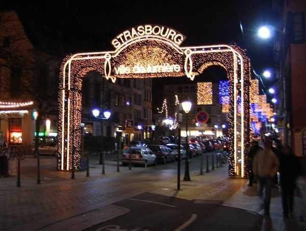 Işıklar Şehri  Strasbourg