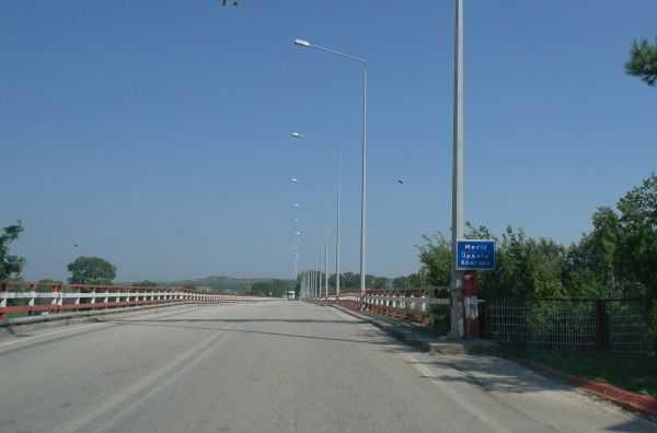 Sınır kapılarından sonra - Meriç Köprüsü