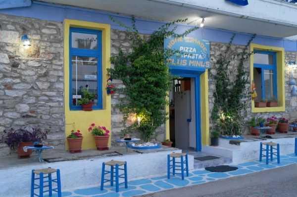 Yine güzel bir restoran - Limenaria