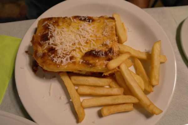 Restaurant Palataki'de yediğimiz yemekler - Limenaria