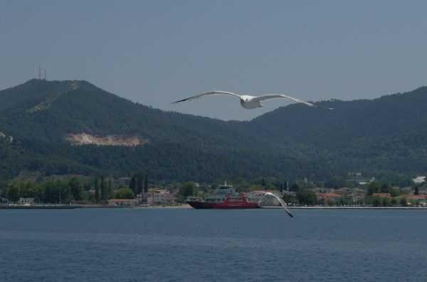 Thassos Feribotu ile adaya yolculuk