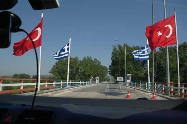 Türkiye - Yunanistan sınırı - Meric Köprüsü