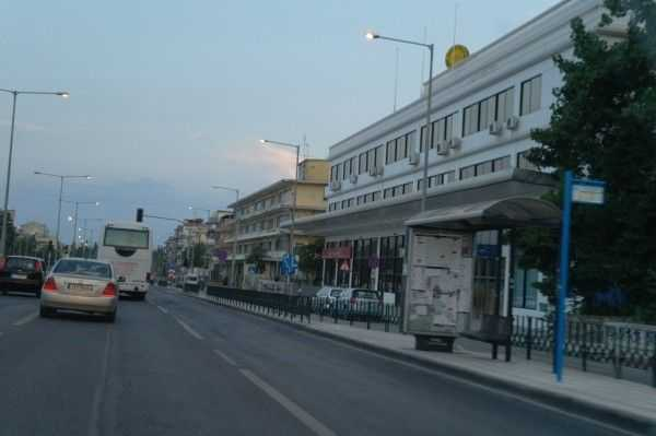 Selanik'e girerken...