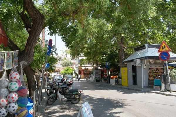 Selanik eski şehir çarşısı