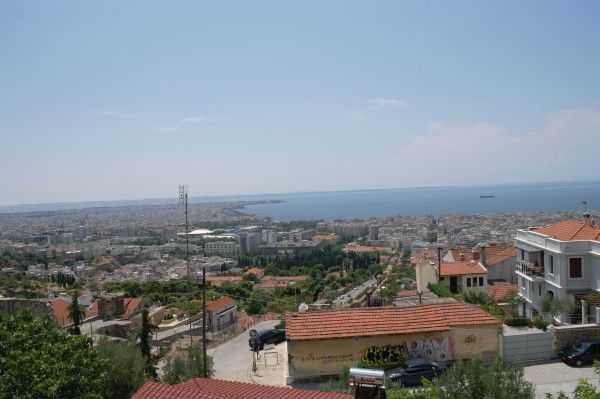 Selanik Kalesi'nden manzara