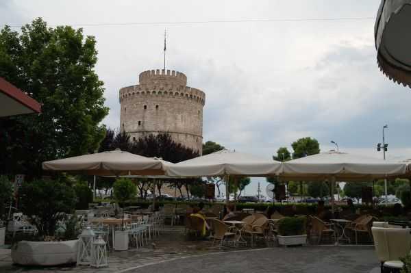 Selanik sahil bölgesi ve Beyaz Kule...