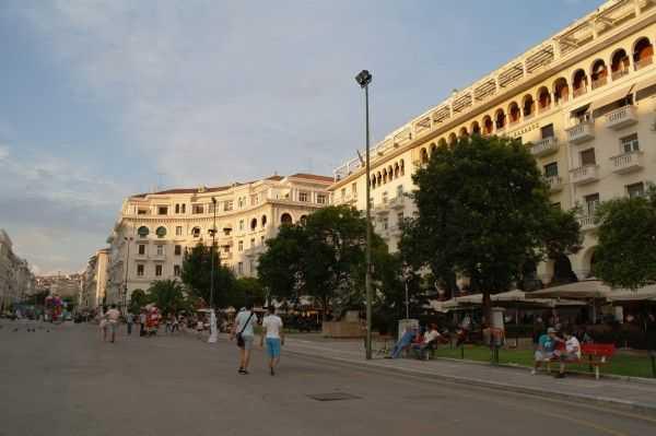 Selanik Aristotelous Meydanı