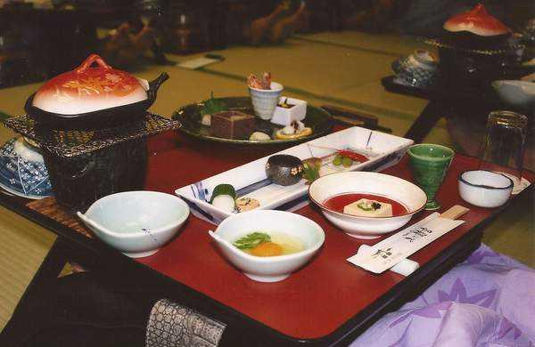 Geleneksel Japon yemekleri