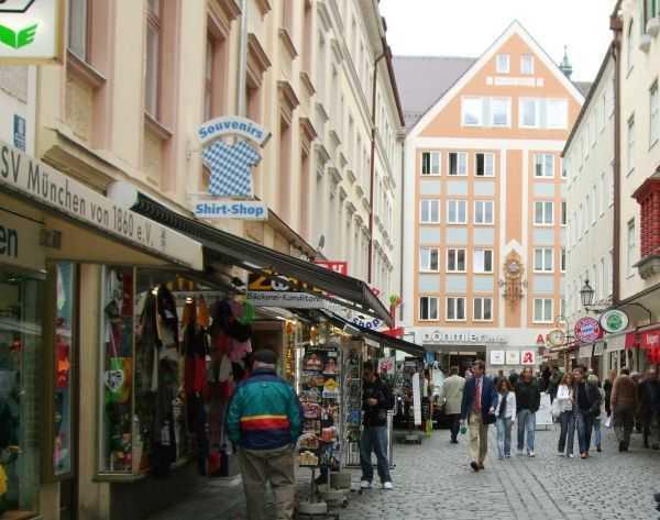 Hofbrahaus civarı