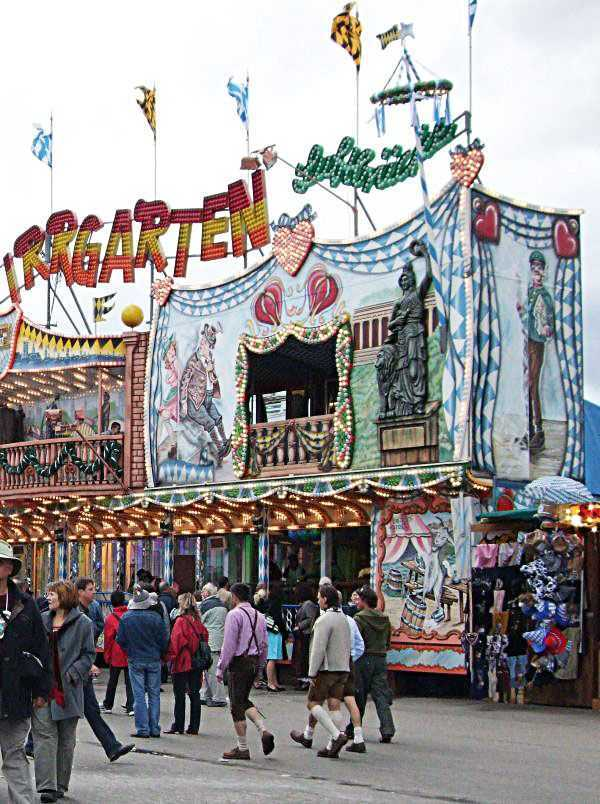Oktoberfest festival alanı