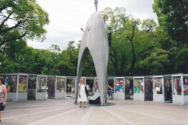 Hiroshima atom bombası anıtı