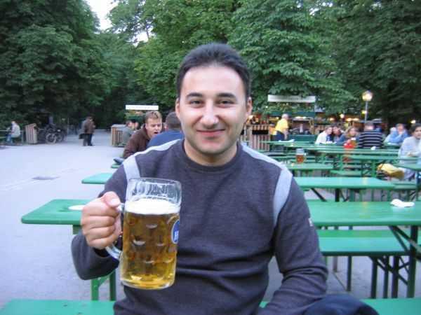 Englischer Garten'de bira keyfi