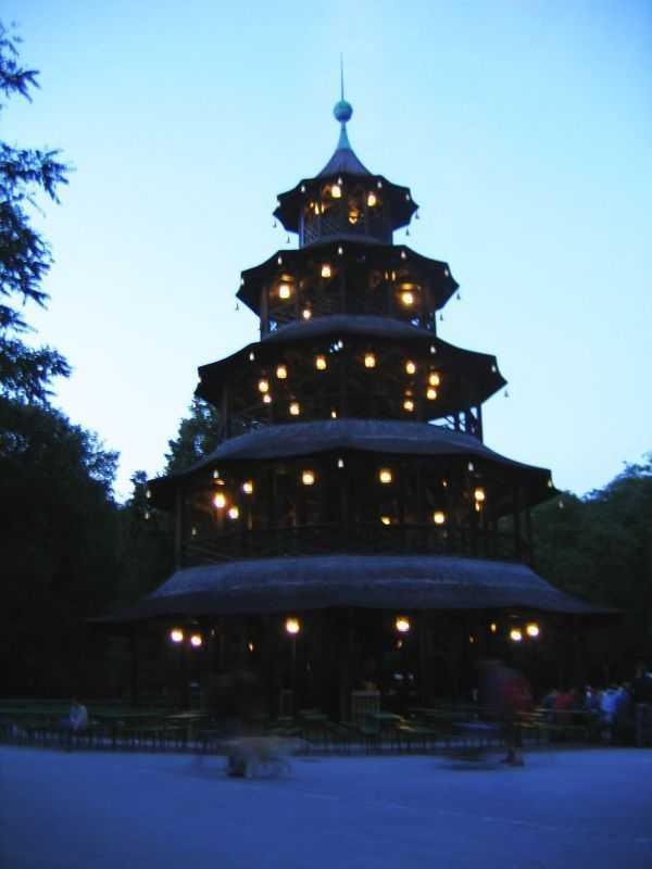 Chinesischem Turm