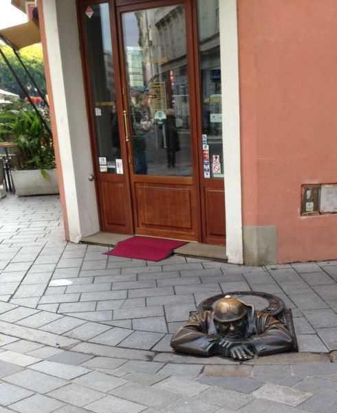 Bratislava'da ünlü Cumin