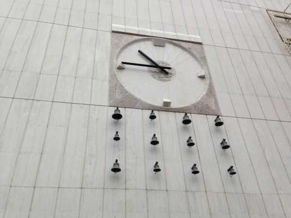 Bratislava'da saat çanlar_