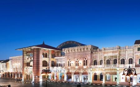 Dubai'de alışveriş...
