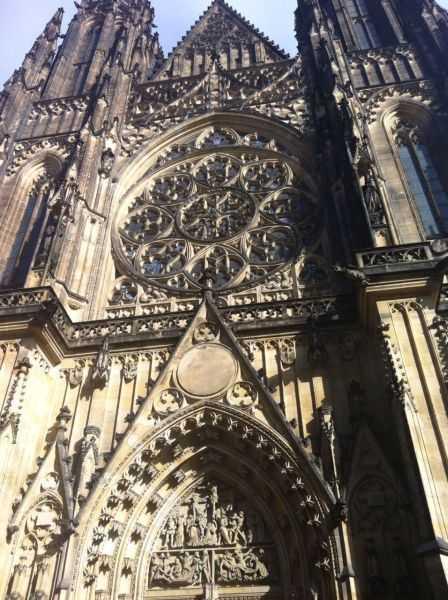 Prag kalede St. Vitus Cathedral (Chram svateho Vita)
