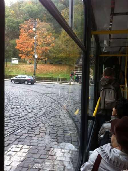 Prag'ta 22 nolu tramvaydan