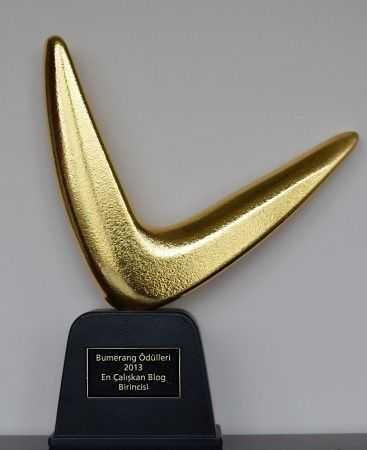 2013 Hürriyet Bumerang Ödülümüz