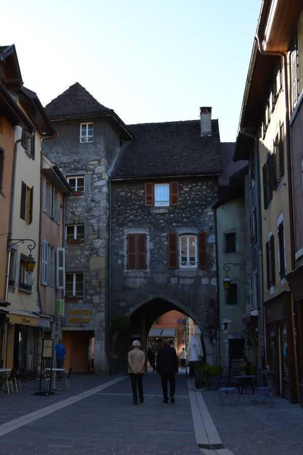 Alışveriş caddeleri,  Annecy - Fransa