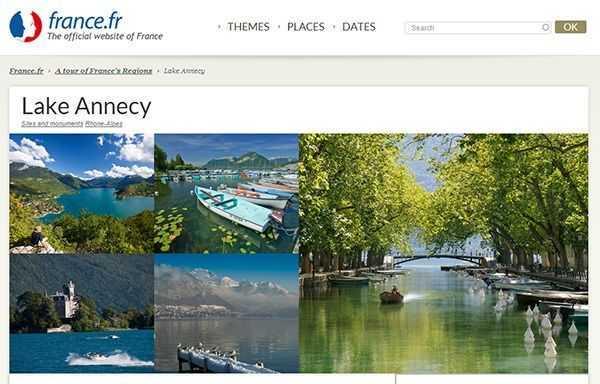 Lake Annecy Resmi Web Sitesi - Fransa