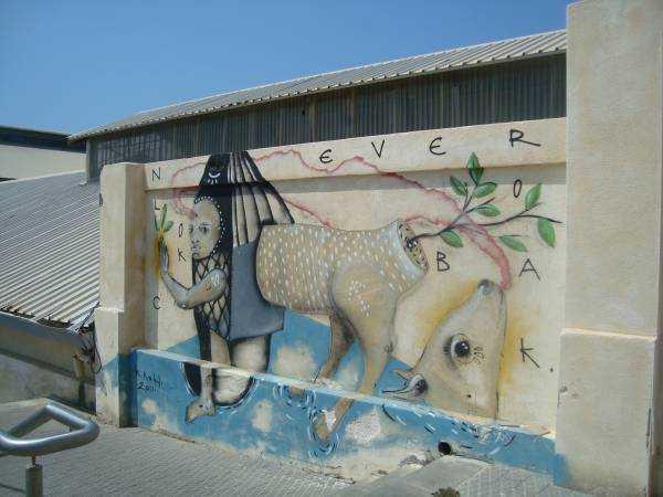 Tel Aviv'deki graffitiler