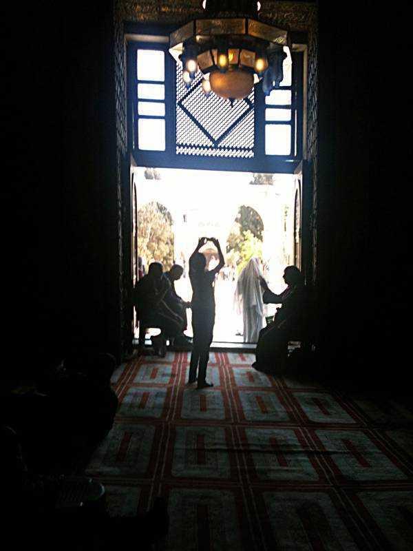 Kubbet-üs-Sahra'nın içi