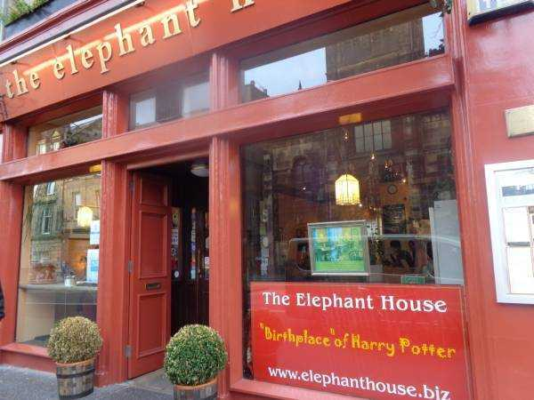 "The Elephant House ""Birthplace of Harry Potter"" - Edinburgh"