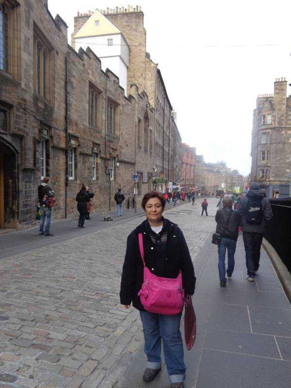Royal Mile (Kraliyet Yolu) - Edinburgh