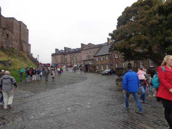 Edinburgh Kalesi içi
