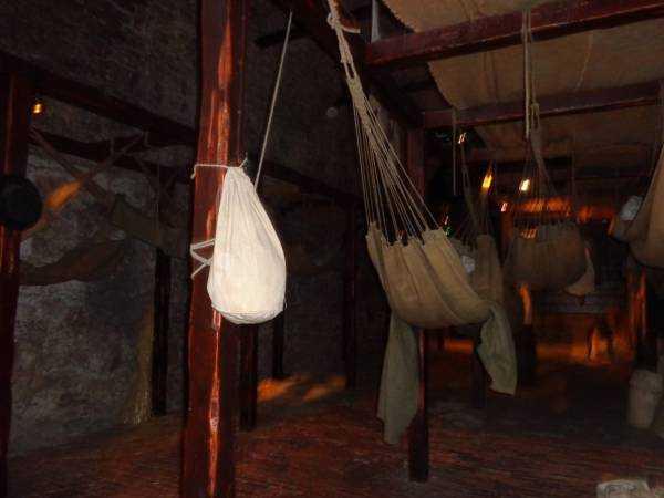 Hapishane odası - Edinburgh Kalesi