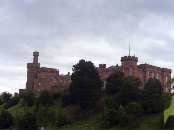 Inverness Castle (Inverness Kalesi) - Highlands