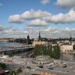 Mavi-yeşil Stockholm