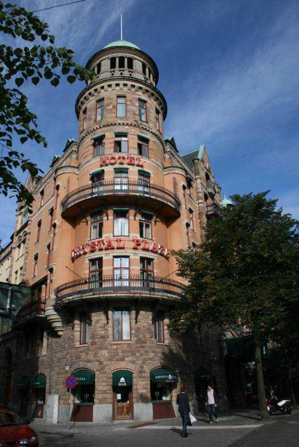 Stockholm'de kaldığımız otantik otel… Crystal Plaza…