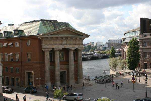 Gamla Stan –Eski kentten Stockholm manzarası…