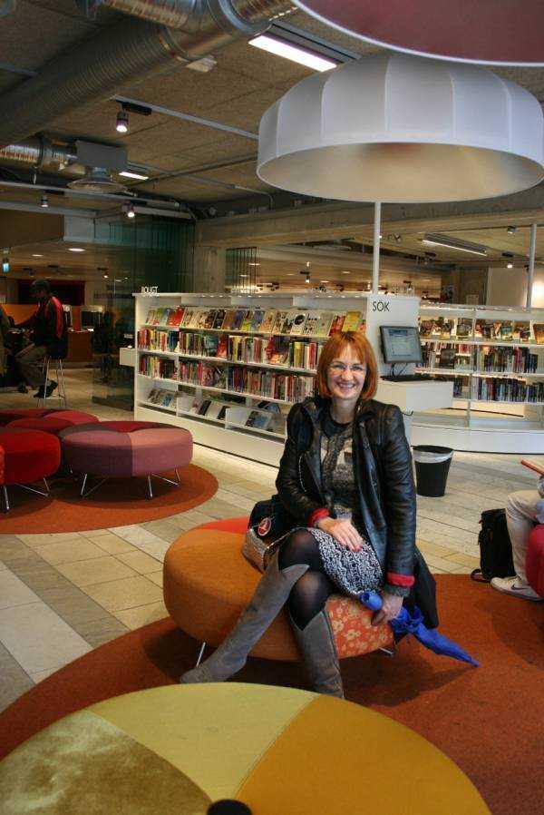 Kulturhuset halk kütüphanesi