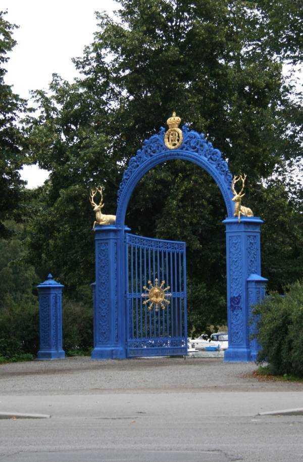 Djurgården giriş kapısı…
