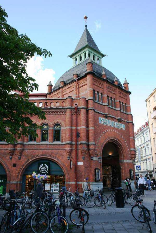 Ostermalmstorg'daki Saluhall binası