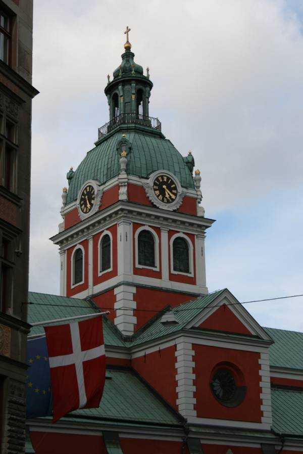 Stockholm'de Sankt Jacobs Kyrka kilisesi…