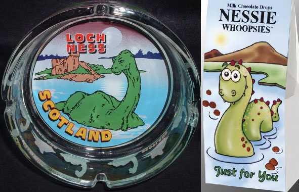 Nessie hediyelik eşyaları - © lochnessgifts.com