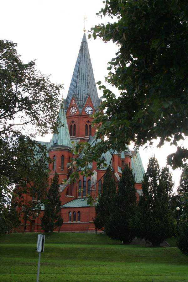 Västervik… Sankt Petri Kyrka adlı kilise...