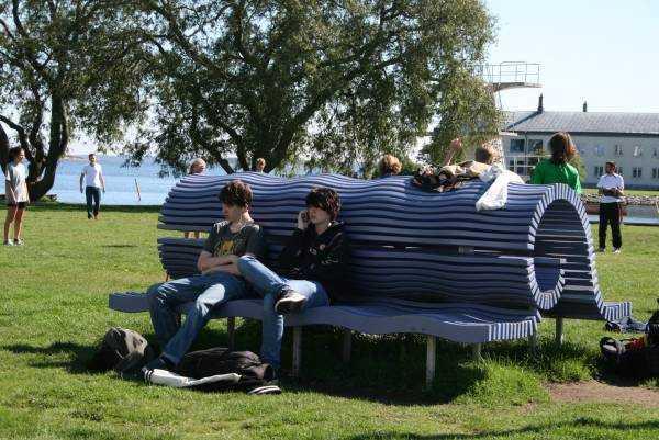 Karlskrona parkı...