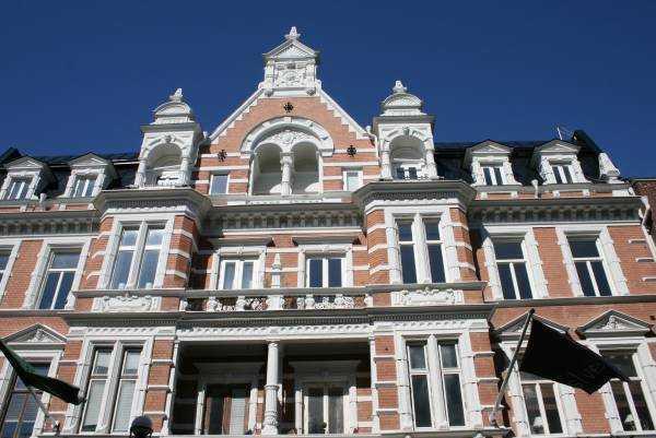Karlskrona kentinin Barok mimarisinden bir örnek...