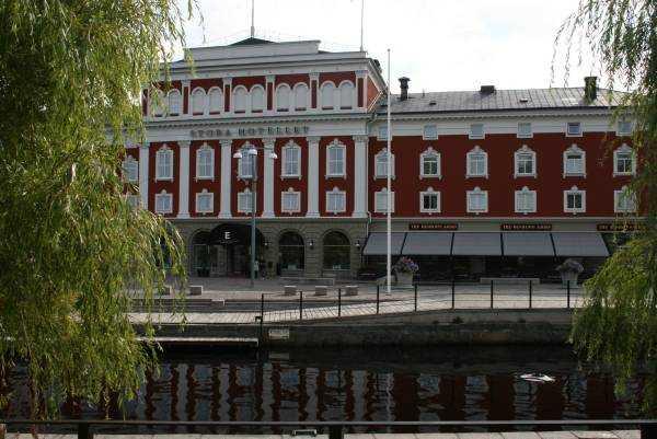 Jönköping'teki otelimiz Elite Stora Hotellet...