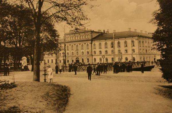 Jönköping'teki otelimiz Elite Stora Hotellet'in 19 yüzyıldaki görünümü...