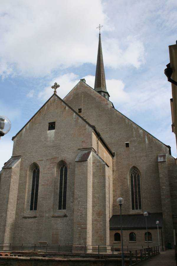 Vadstena Abbey Kilisesi...