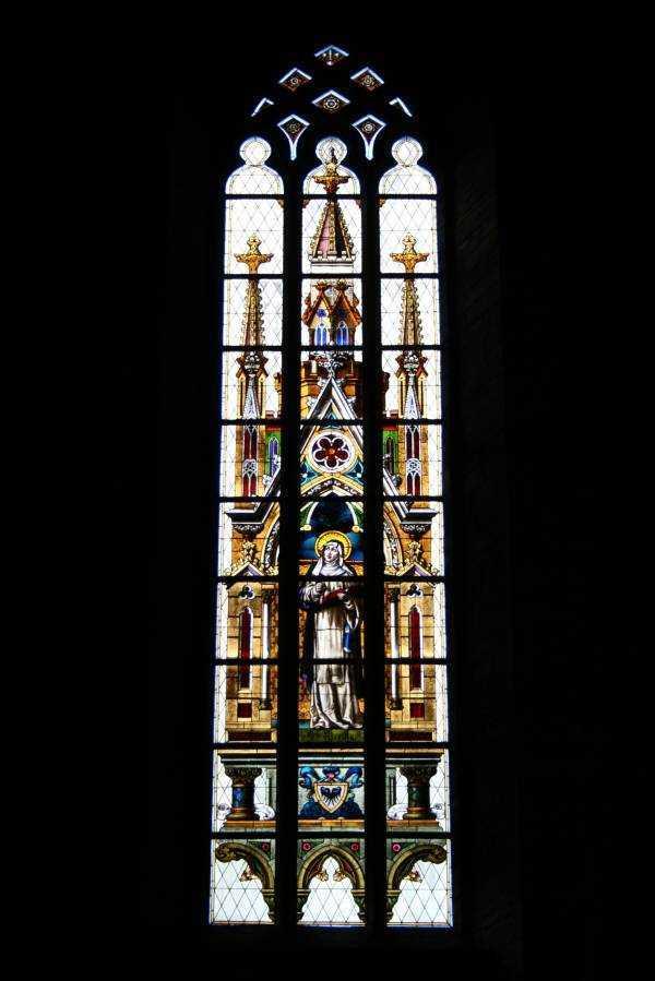 Vadstena Abbey Kilisesinin vitrayları...