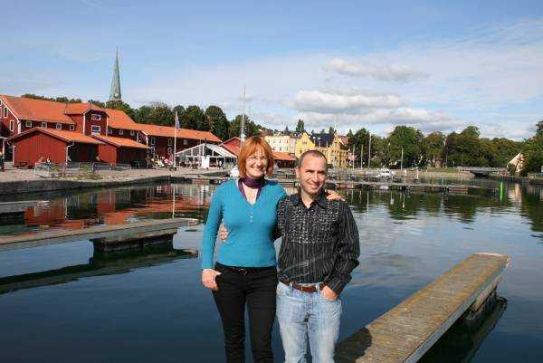 Vättern gölü ağzındaki Motala kenti…