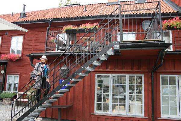 Hälls Bageri&Konditori kafeteryasının gizli bahçesi…